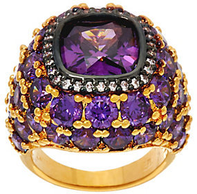 Elizabeth Taylor As Is The 12 ct Simulated Amethyst Ring