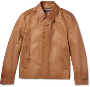 Ralph Lauren Purple Label Woodhull Leather Jacket