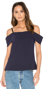 Elizabeth and James Tara Off The Shoulder Top