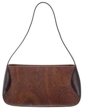 Etro Leather-Trimmed Pochette