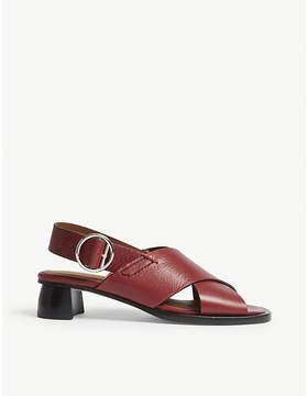 Joseph Cross leather heeled sandals