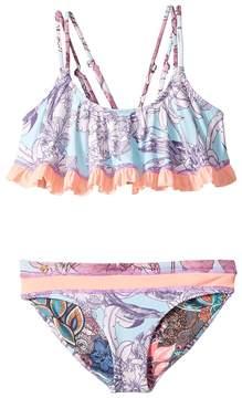 Maaji Kids Blue Bolero Bikini Girl's Swimwear Sets