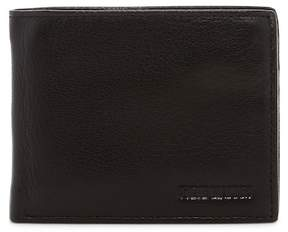 Steve Madden Smooth Grain Leather Passcase Wallet