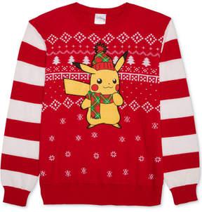 Hybrid Men's Pikachu Holiday Sweater