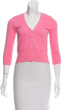 Demy Lee Cropped Cashmere Cardigan
