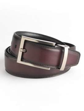Black & Brown Black Brown Reversible Leather Belt