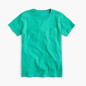 J.Crew Kids' pocket T-shirt in slub cotton