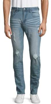 Buffalo David Bitton Max-X Distress Bleached Jeans
