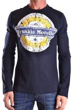 Frankie Morello Men's Blue Cotton T-shirt.