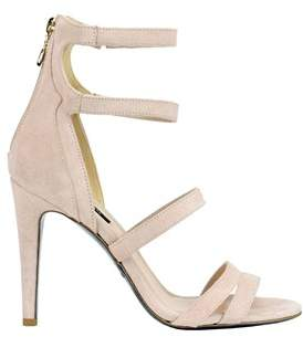 Patrizia Pepe Women's Pink Suede Sandals.