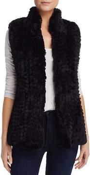 Aqua Faux Fur Vest - 100% Exclusive