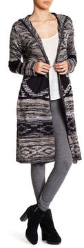 Angie Hooded Open Jacket