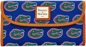 Dooney & Bourke Florida Gators Large Continental Clutch - BLUE - STYLE