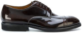 Premiata brogue derby shoes