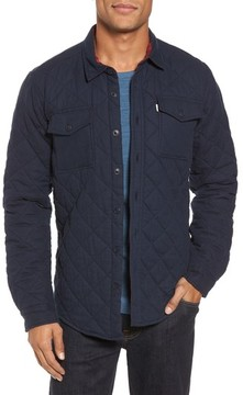 Barbour Men's Quilted Shirt Jacket