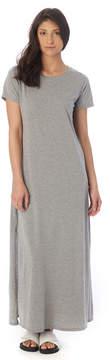 Alternative Apparel High Slit T-Shirt Dress