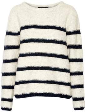 Line Striped Pullover Sweater