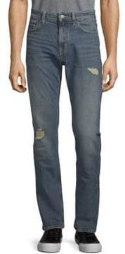 Calvin Klein Jeans Slim-Fit Distressed Stretch Jeans