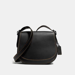 COACH Coach Saddle 23 - BLACK COPPER/BLACK - STYLE