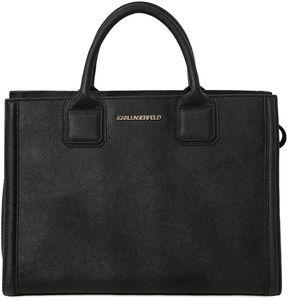 K Klassic Saffiano Leather Tote Bag