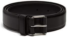 Givenchy Logo-print buckle leather belt
