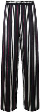 Au Jour Le Jour striped jacquard pants