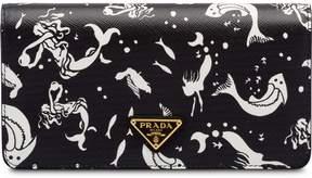 Prada Saffiano leather mermaid print mini-bag