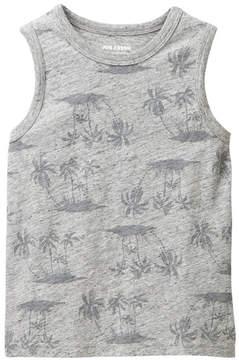 Joe Fresh Palm Tree Print Tank (Little Boys)