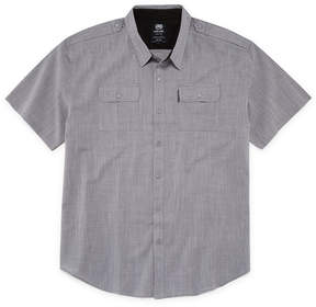 Ecko Unlimited Unltd Short Sleeve Button-Front Shirt-Big and Tall