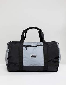 Nicce London carryall in reflective