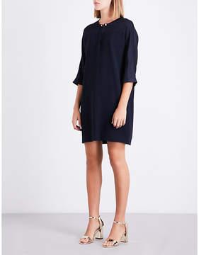 Claudie Pierlot Oversized crepe shift dress