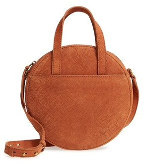 Madewell Juno Circle Leather Shoulder Bag - Brown
