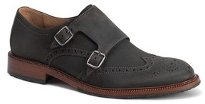 Trask Men's Leland Double Monk Strap Shoe