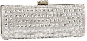 J. Furmani Women's 62031 Crystal and Stone Hardcase Clutch