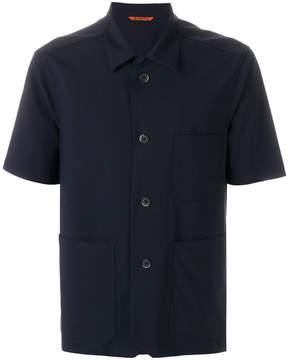 Barena open collar half sleeve shirt