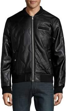 Members Only Men's Patterned Bomber Jacket
