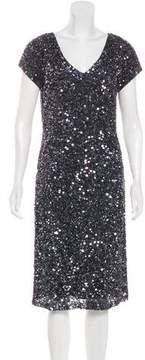 Alberto Makali Sequined Midi Dress