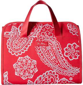 Vera Bradley Lighten Up Hanging Organizer Bags - RASPBERRY BANDANA - STYLE