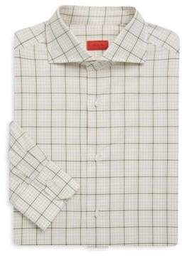 Isaia Regular-Fit Cotton Dress Shirt