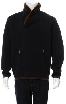 Kolor Faux Fur Pullover Sweatshirt w/ Tags