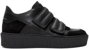 MM6 MAISON MARGIELA Black Platform Sneakers