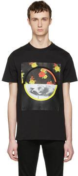 McQ Black Floral T-Shirt