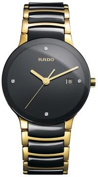Rado Men's Centrix Diamond Bracelet Watch, 38Mm