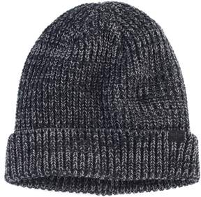 Dockers Men's Marled Yarn Knit Beanie with Plush Lining