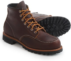 Red Wing Shoes 8146 Roughneck Moc-Toe Boots - Leather, Factory 2nds (For Men)