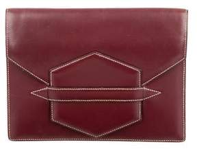 Hermes Faco Clutch - RED - STYLE