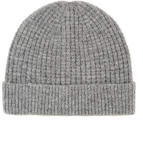 Barneys New York WOMEN'S WAFFLE-STITCHED BEANIE