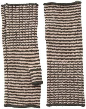 Echo Soft Stretch Mini Stripe Fingerless Gloves Dress Gloves
