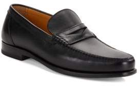 a. testoni Sport Leather Loafers