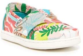 Toms Bimini Tropical Palms Slip-On Flat (Baby, Toddler, & Little Kid)